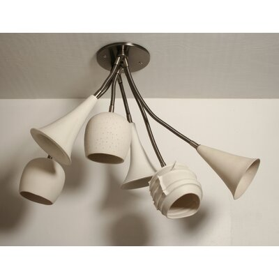 Newmanstown Bouquet Semi Flush Mount