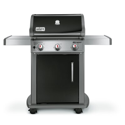 Weber Spirit E-310 3-Burner Propane Gas Grill with Cabinet 46510001
