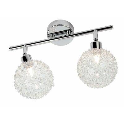 Schienenbeleuchtungsset 2-flammig Spider   Lampen > Strahler und Systeme > Schienensysteme   Glas   Nino Leuchten
