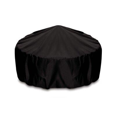 Fire Pit / Table Top Cover Size: 48, Color: Black