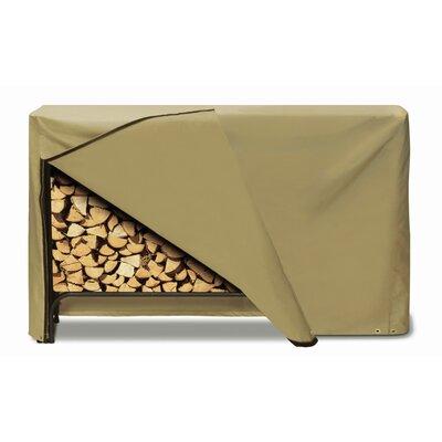 Log Rack Cover Color: Khaki, Size: 96