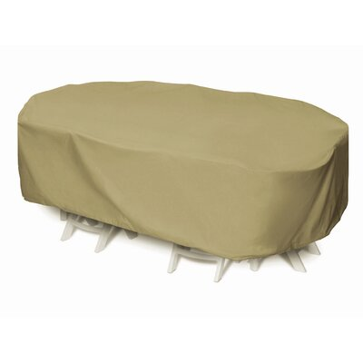 Oval / Rectangle Table Set Cover