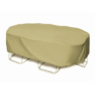 Oval Rectangle Table Chat Set Cover 2664 Product Photo