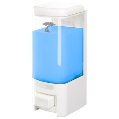 Plastic Shampoo & Soap Dispenser Size: Single