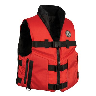 Buy Low Price Mustang Survival Accel 100 Fishing Vest Size: Small (MV4620-SM)