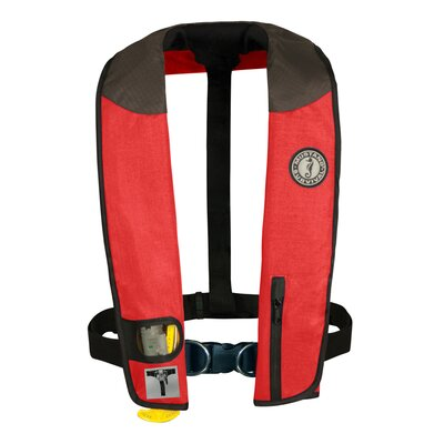 Mustang Survival Deluxe Adult Automatic Inflatable PFD with Sailing Harness