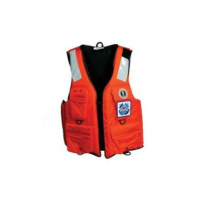 Cheap Mustang Survival Four Pocket Flotation Vest Size: Small (MV3128T2-S-OR)