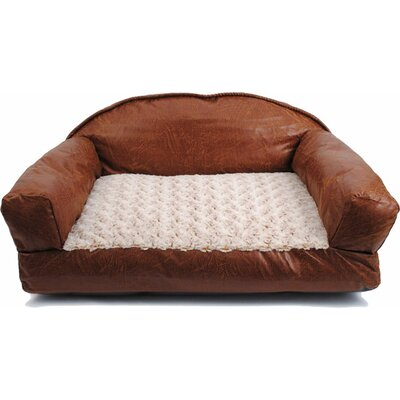 Heyward Leather Dog Sofa Bed