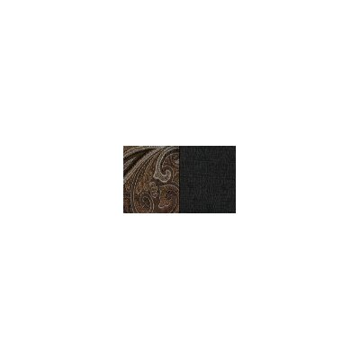 Timeless Paisley Reversible Square Table Topper Color-noir / Noir  Size-34 X 34