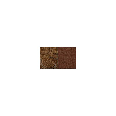 Timeless Paisley Reversible Square Table Topper Color-fawn / Kona  Size-43 X 43