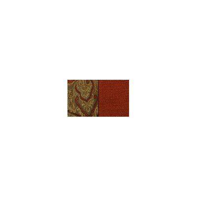 Timeless Paisley Reversible Square Table Topper Color-spice / Cinnabar  Size-54 X 54