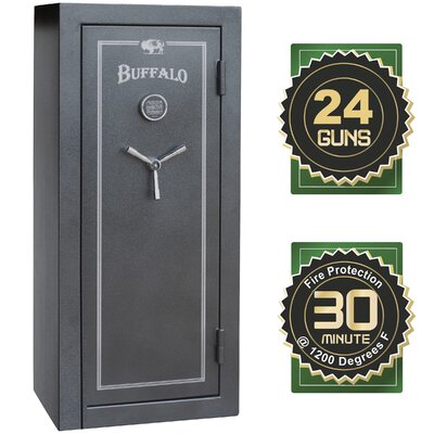 Buffalo Electronic Lock Gun Safe 12 CuFt Product Image 1560