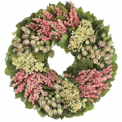 Lux Larkspur 22 Wreath
