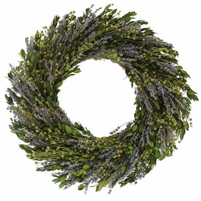 18 Natural Leaves Wreath