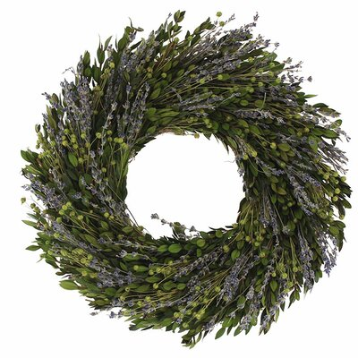16 Natural Leaves Wreath