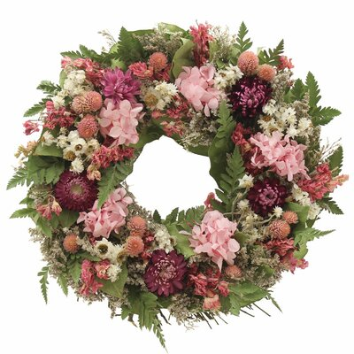 Berry Pink Garden Wreath