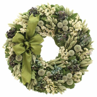 Royal Thistle Wreath Size: 22 H x 22 W