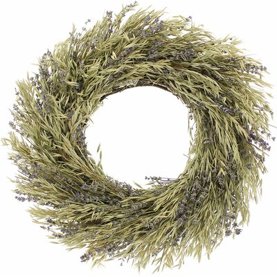 Natural Oats Wreath Size: 18 H x 18 W x 4 D