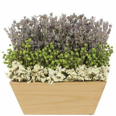 Nature Wooden Tabletop Floral Arrangement