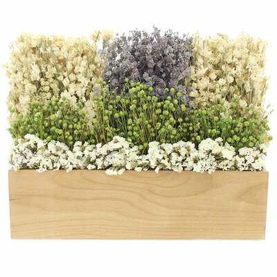 Nature Wooden Tabletop Floral Arrangement