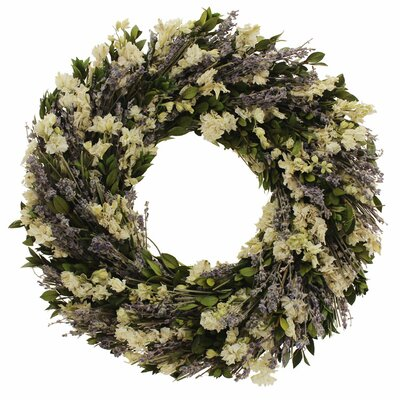 Indigo Garden Wreath