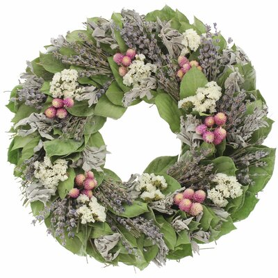 Lavender Breeze Wreath