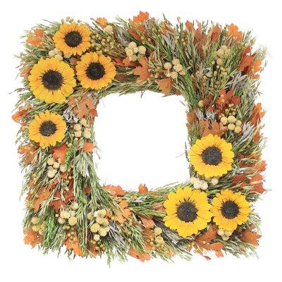 "Sunflower Morning 22"" Wreath LFMF2657 42715785"
