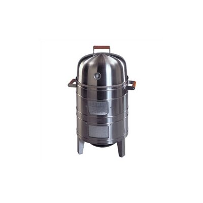 Stainless Steel Charcoal Water Smoker with Grill