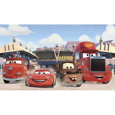 Walt Disney Kids II Disney Cars Friends Finish Xl Mural
