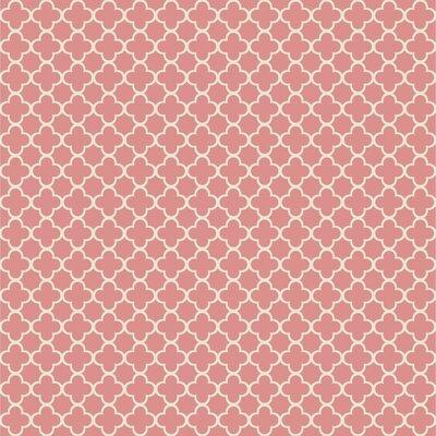 Waverly Kids Framework 33' x 20.5 Trellis Wallpaper