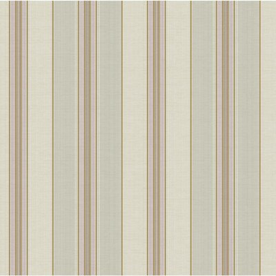 Waverly Lovers Lane 33' x 20.5 Stripes Wallpaper