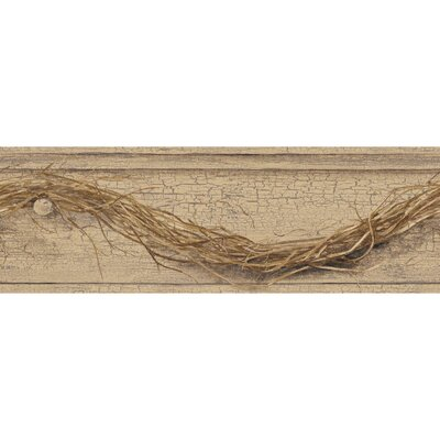 Country Keepsakes Grapevine Twig 15' x 6 Border Wallpaper