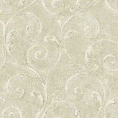 American 33' x 20.5 Scroll Wallpaper