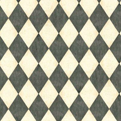 American Old World 33' x 20.5 Geometric Wallpaper
