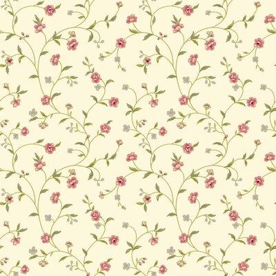 Waverly Cottage Bellisima Vine 33' x 20.5 Floral Wallpaper