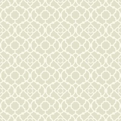 Waverly Small Prints Lovely Lattice 33' x 20.5 Geometric Wallpaper