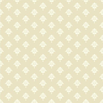 Waverly Cottage Bling 33' x 20.5 Damask Wallpaper