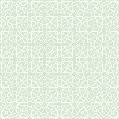 Waverly Small Prints Starry Eyed 20.5' x 20.5 Geometric Wallpaper