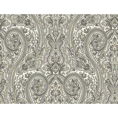 Nautical Living 33' x 20.5 Paisley Wallpaper