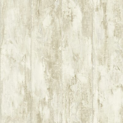 Nautical Living Planks 33' x 20.5 Wood Wallpaper