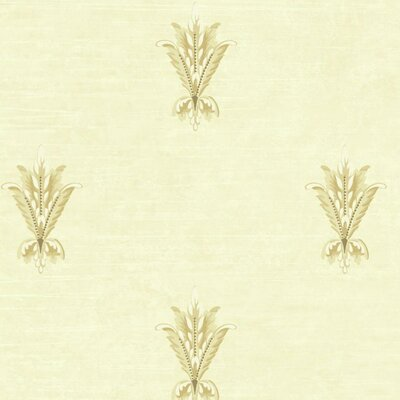 Normandy Manor 27' x 27' Floral Roll Wallpaper