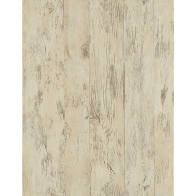 Weathered Finishes 33' x 20.5 Wood Wallpaper