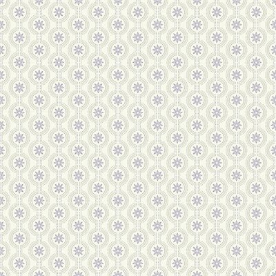 Waverly Kids Chantal 33' x 20.5 Geometric Wallpaper Color: White, Lavender, Pale Metallic Gold