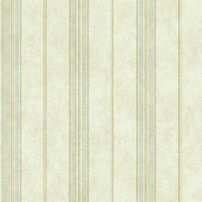 Luxe 33' x 20.5 Stripes Roll Wallpaper