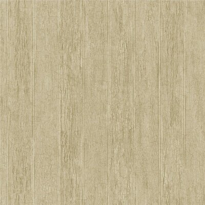Natural Elements Bead Board 33' x 20.5 Stripes Wallpaper