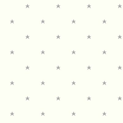 Growing Up Kids Stars Removable 33' x 20.5 Wallpaper Roll