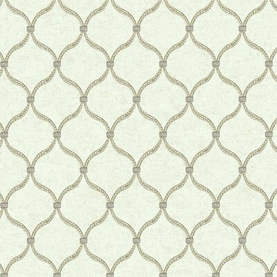 Global Chic Dot 27' x 27 Trellis Wallpaper