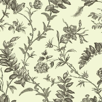 Williamsburg Solomon's Seal 27' x 27 Floral and Botanical Wallpaper