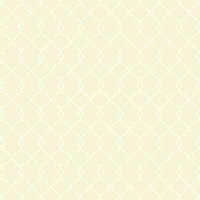 Williamsburg Chippendale Fret 27' x 27 Trellis Wallpaper