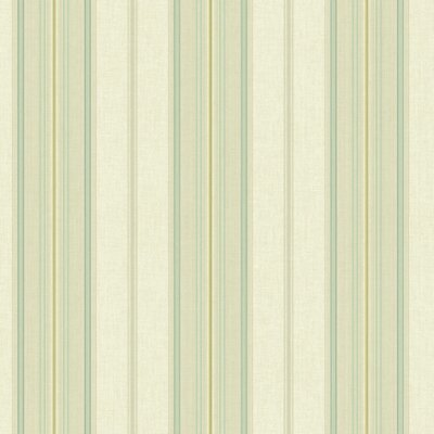 Williamsburg Amelia 27' x 25.25 Stripes Wallpaper